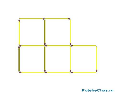 отзывы загадка сколько квадратов на картинке спички график работы